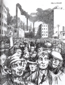 old factory workers